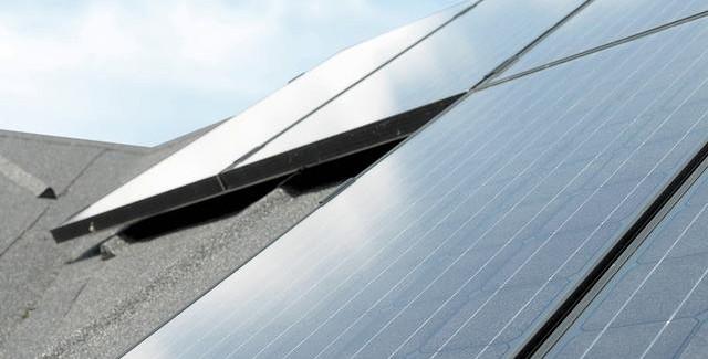 Solceller fra KlimaEnergi A/S